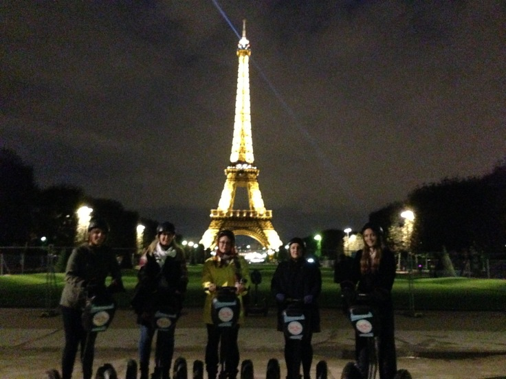eiffel tower segway