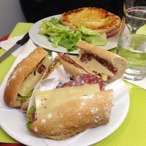 paris for lunch
