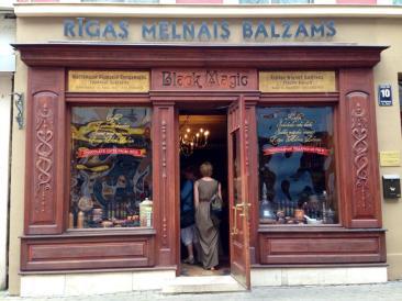 black magic bar entrance